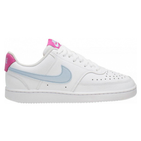 Nike COURT VISION LOW white - Women's leisure footwear
