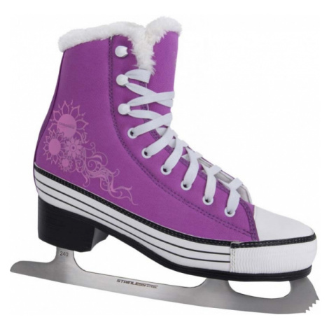 Crowned CINDY W violet - Women's ice skates