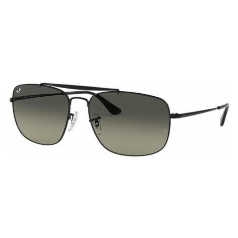 Ray-Ban Colonel Man Sunglasses Lenses: Gray, Frame: Black - RB3560 002/71 58-17