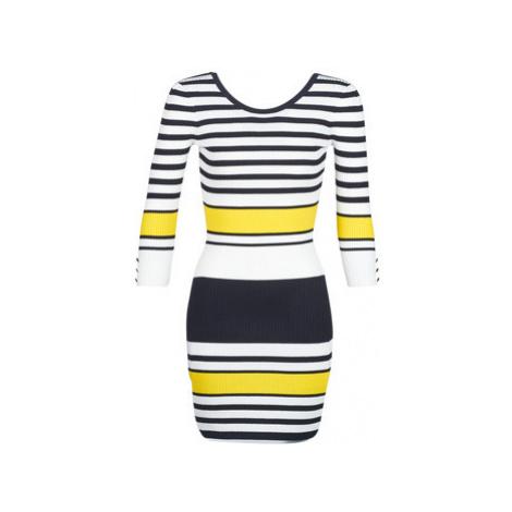 Morgan RMINO women's Dress in Multicolour