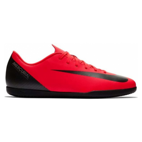 Nike CR7 VAPORX 12 CLUB IC red - Men's indoor shoes