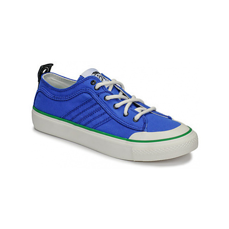 Diesel S-ASTICO LC LOGO men's Shoes (Trainers) in Blue