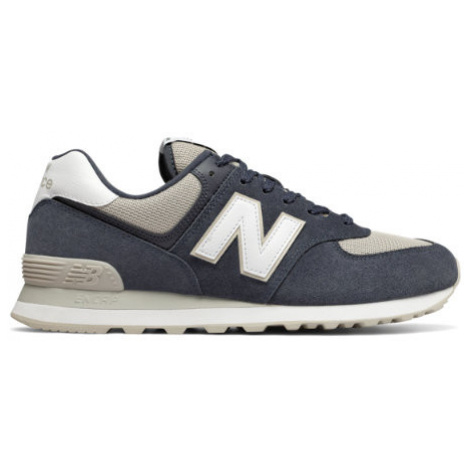 New Balance 574 Shoes - Outerspace/Light Cliff Grey