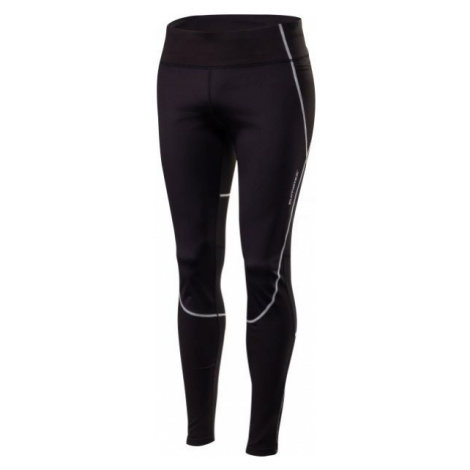 Klimatex MORCO black - Men's wind resistant running tights