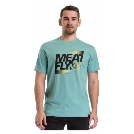 T-Shirt Meatfly Flux 2 - A/Dusty Mint