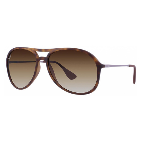Ray-Ban Alex Unisex Sunglasses Lenses: Brown, Frame: Gunmetal - RB4201 865/13 59-15