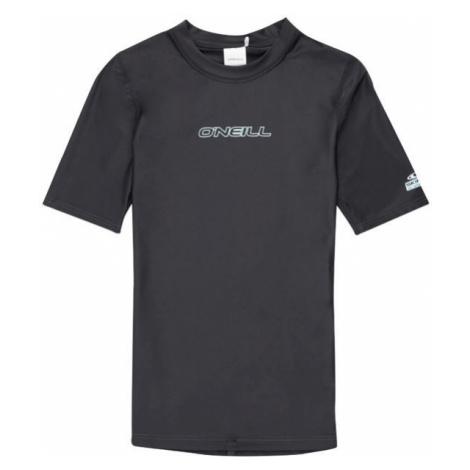 O'Neill PW ESSENTIAL S/SLV SKINS black - Women's surf T-shirt