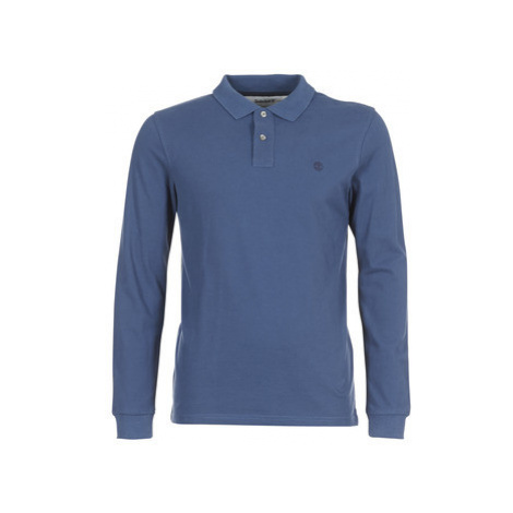 Timberland MILLERS RIVER men's Polo shirt in Blue