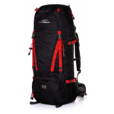 Loap ATLAS 70+10 red - Hiking backpack