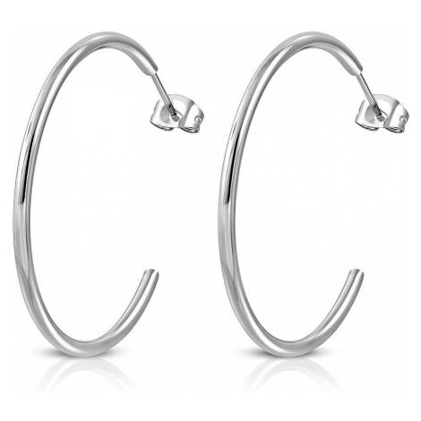 earrings Body Art EHE076 - Silver