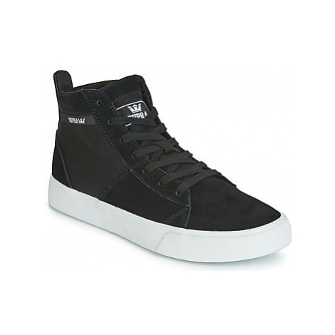Supra STACKS MID women's Shoes (High-top Trainers) in Black