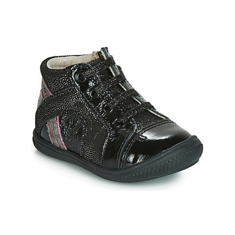 GBB ROSETTA girls's Children's Shoes (High-top Trainers) in Black