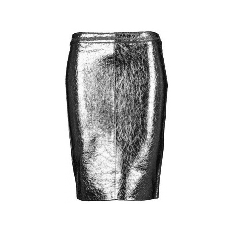 American Retro DOROTHA women's Skirt in Silver