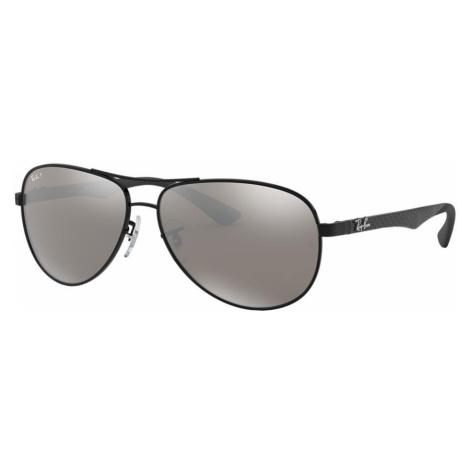 Ray Ban Man RB8313 - Frame color: Black, Lens color: Grey-Black, Size 61-13/140