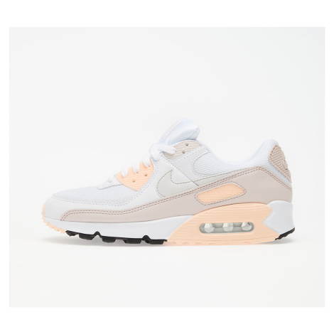 Nike W Air Max 90 White/ Platinum Tint-Barely Rose