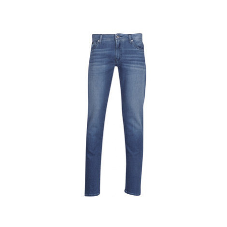 Armani Exchange HELBINET men's Skinny Jeans in Blue
