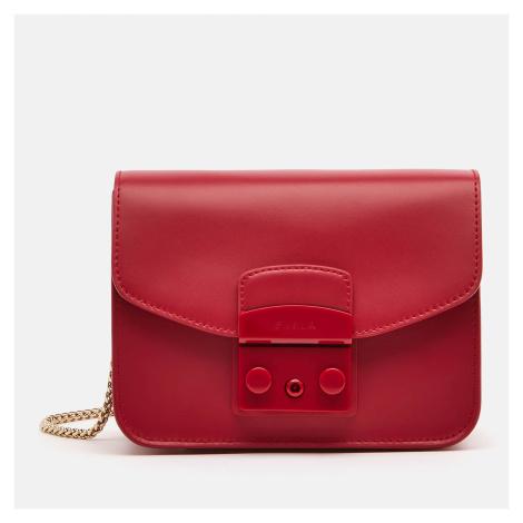 Furla Women's Metropolis Mini Cross Body Bag - Ruby