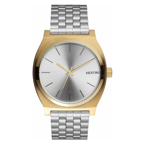 watch Nixon Time Teller - Gold Silver/Silver