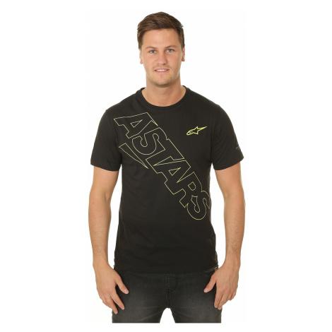 T-Shirt Alpinestars Pampalona Ride Dry - Black - men´s