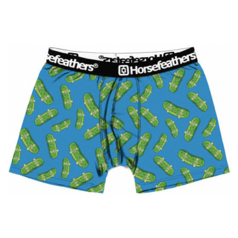 Horsefeathers SINDEY BOXER SHORTS (PICKLES) blue - Men's boxer briefs