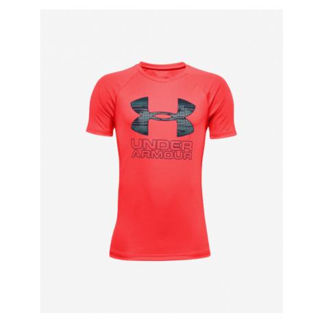 Under Armour Tech™ Hybrid Kids T-shirt Red