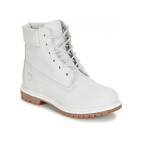 Timberland 6IN PREMIUM BOOT - W women's Mid Boots in White