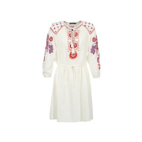 Antik Batik DANAH women's Dress in White