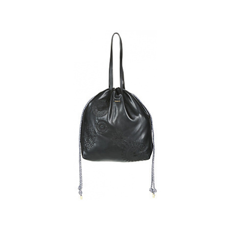 Desigual DARK AMBER TALLIN women's Shoulder Bag in Black