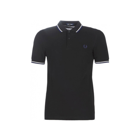 Fred Perry THE FRED PERRY SHIRT men's Polo shirt in Black