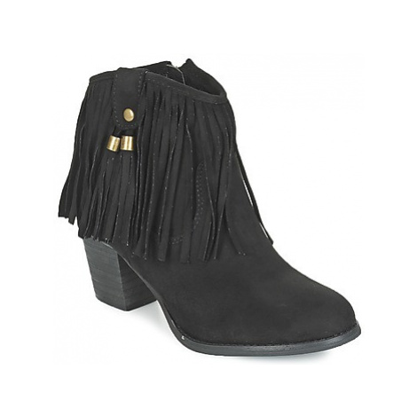 Refresh MICROU women's Low Ankle Boots in Black