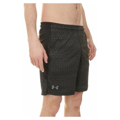 shorts Under Armour Raid Jacquard 8'' - 001/Black/Graphite