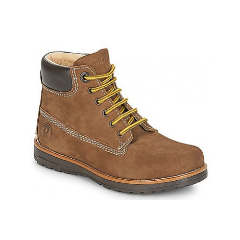 Primigi PCA 24127 boys's Children's Mid Boots in Brown