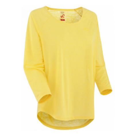 KARI TRAA PIA LS yellow - Women's sports T-shirt