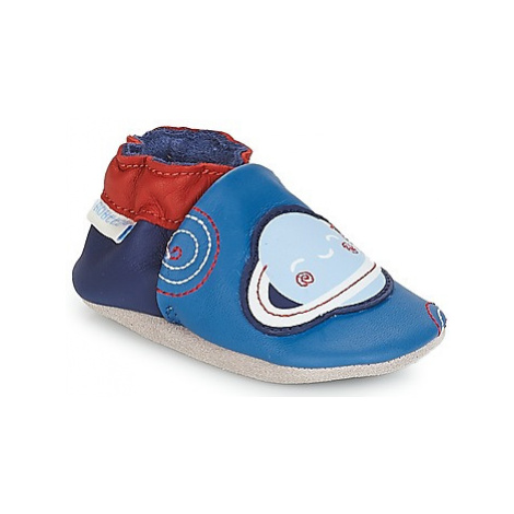 Robeez PLANET boys's Baby Slippers in Blue
