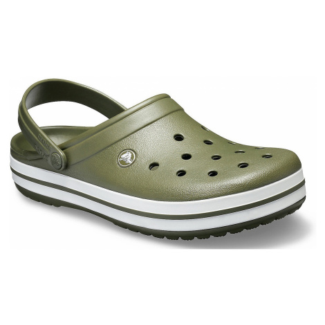 shoes Crocs Crocband - Army Green/White