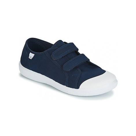 Citrouille et Compagnie JODIPADE girls's Children's Shoes (Trainers) in Blue