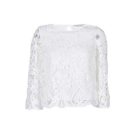 Naf Naf HALDRINE women's Blouse in White