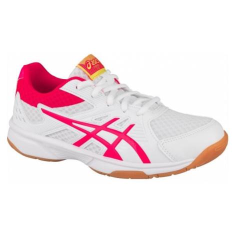 Asics UPCOURT 3 GS white - Children's volleyball shoes