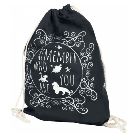 The Lion King Remember Who You Are Gym Bag black