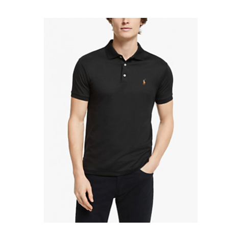 Polo Ralph Lauren Custom Slim Soft Touch Polo Shirt, Black