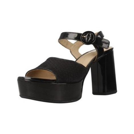 Geox D GALENE women's Sandals in Black