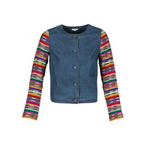 Manoush INDIAN DENIM women's Jacket in Blue