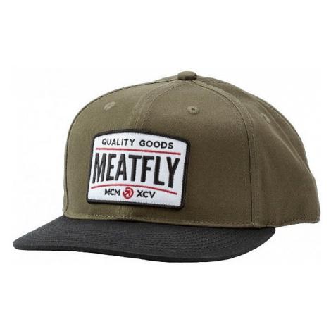 cap Meatfly Arcade Snapback - D/Olive