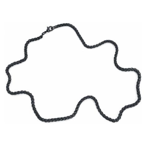Rock Chain - - Necklace - black