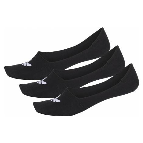 adidas Originals No Show Set of 3 pairs of socks Black