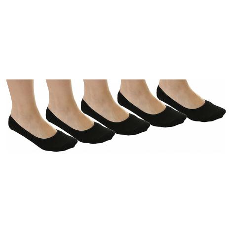 socks Urban Classics Invisible 5 Pack/TB1644 - Black