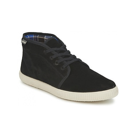 Victoria 6760 men's Shoes (High-top Trainers) in Black