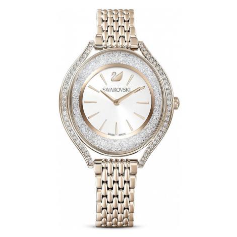 Swarovski Crystalline Aura Champagne Gold Plated Watch