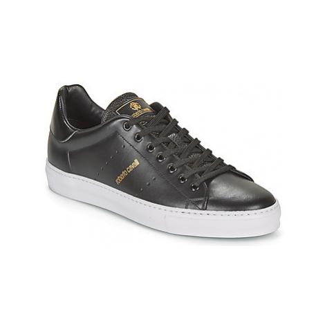 Roberto Cavalli 8313 men's Shoes (Trainers) in Black
