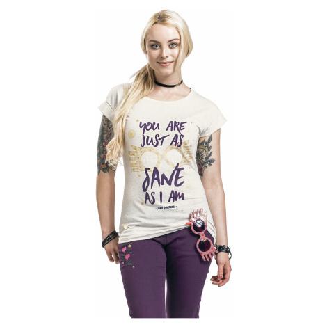 Harry Potter - Luna Lovegood - Just As Sane As I Am - Girls shirt - mottled cream